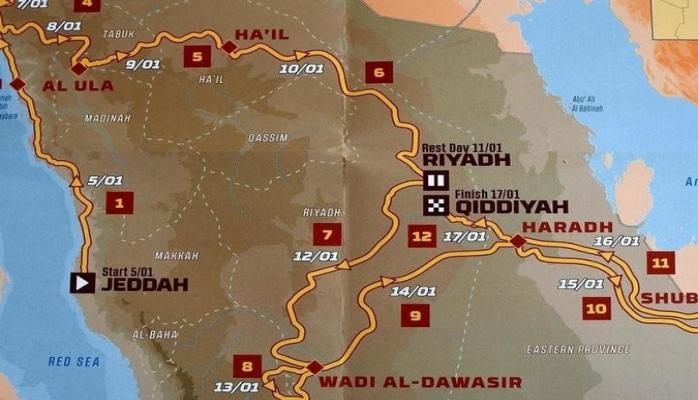 'Dakar' rallisinin yeni marşrutu təqdim olunub