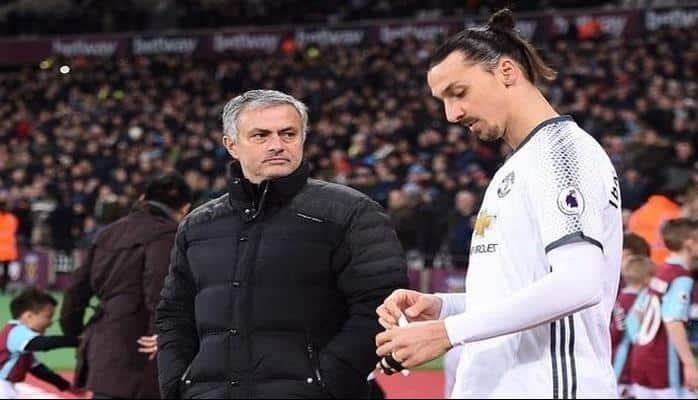 """Mourinyo: """"İbrahimoviçin """"qırmızı şeytanlar""""a qayıdışı mümkün deyil"""""""