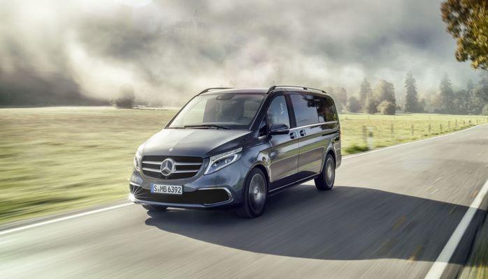 Новый Mercedes-Benz V-Class: больше люкса и бриллиантов