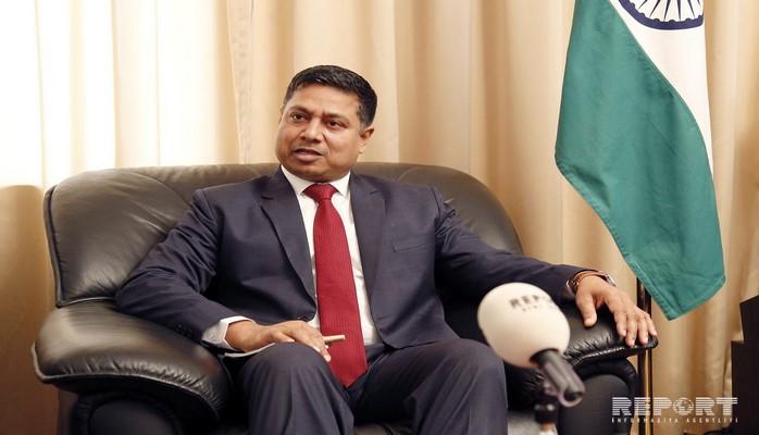 Посол Индии отбыл из Азербайджана