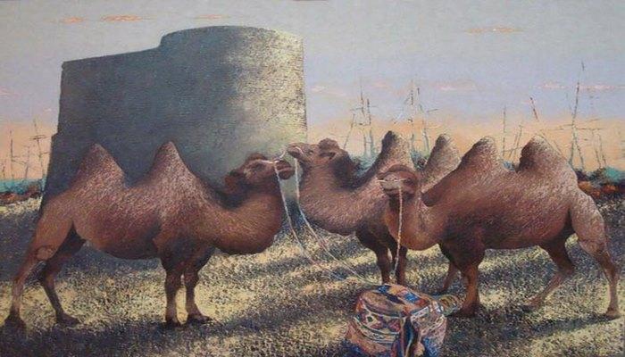 Верблюды в истории и культуре Азербайджана
