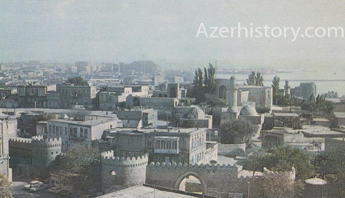 Памятники архитектуры Баку в 1986 г. (ФОТО)