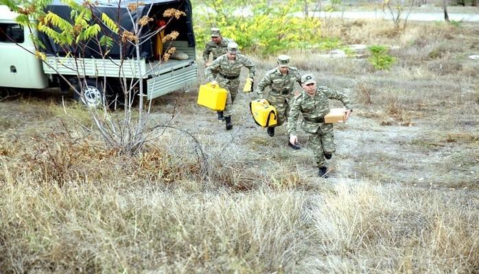 Проверена боеготовность топографической воинской части