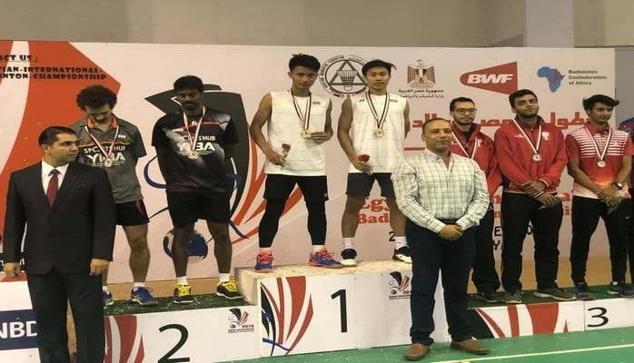 """Azərbaycan badmintonçuları """"Egypt International 2018""""də 2 qızıl medal qazanıblar"""