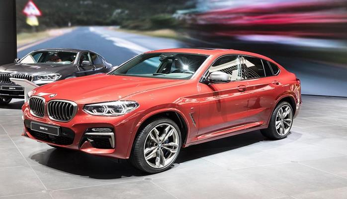 BMW выпустит спортивные кроссоверы X3 M и X4 M
