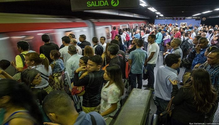 Venesuelada metro pulsuz oldu