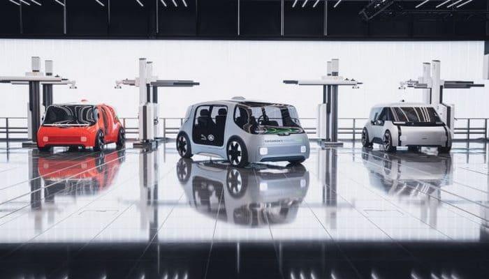 Jaguar Land Rover ilk pilotsuz elektromobilinin konseptini təqdim edib