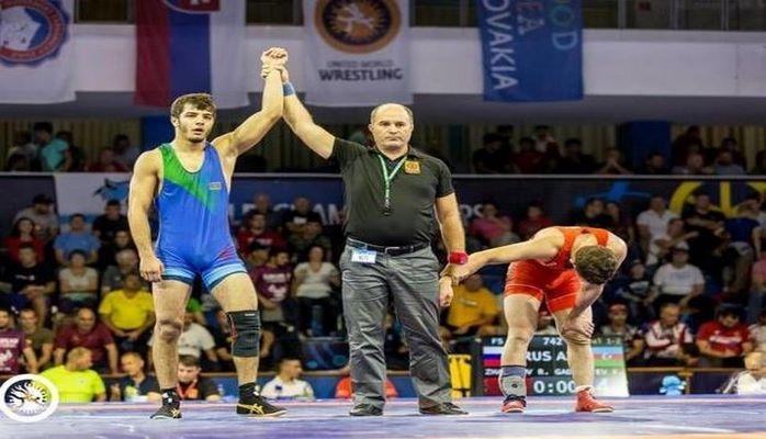 Азербайджанский борец стал чемпионом мира