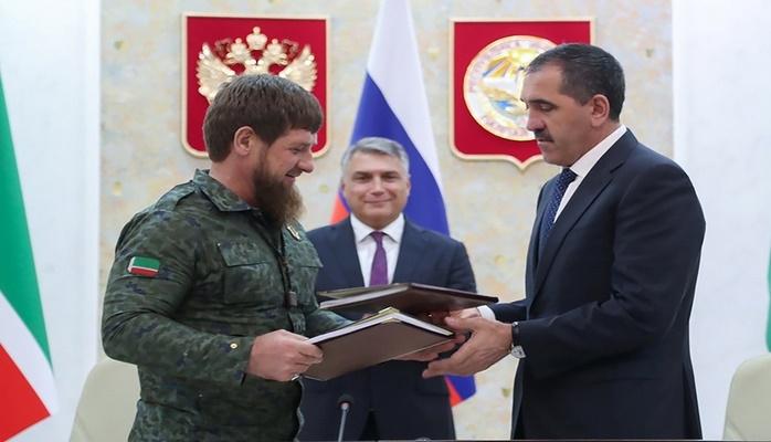 Депутаты Ингушетии утвердили соглашение о границе с Чечней