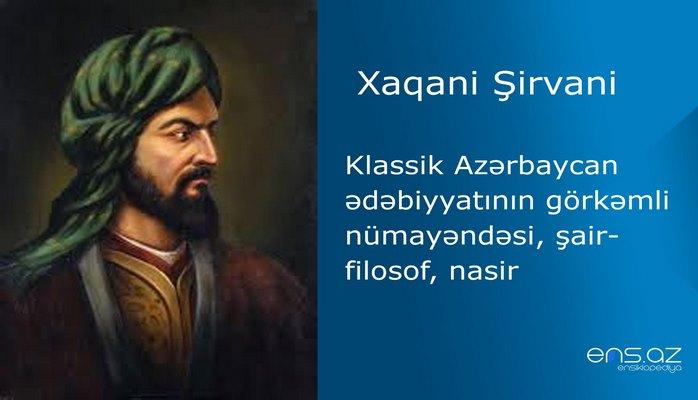 Xaqani Şirvani