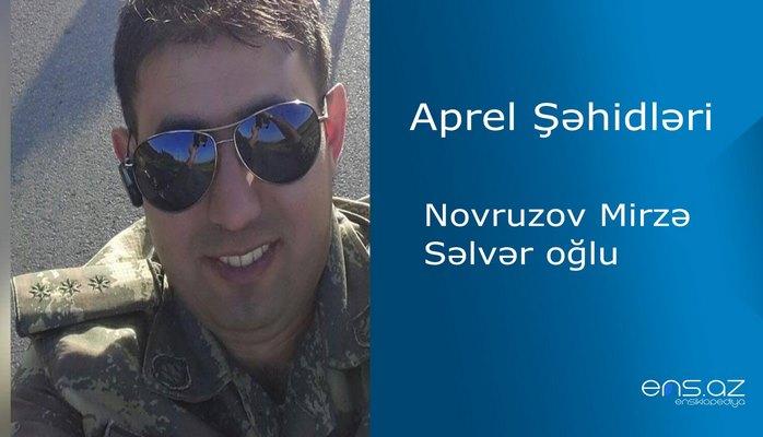 Mirzə Novruzov Sərvər oğlu