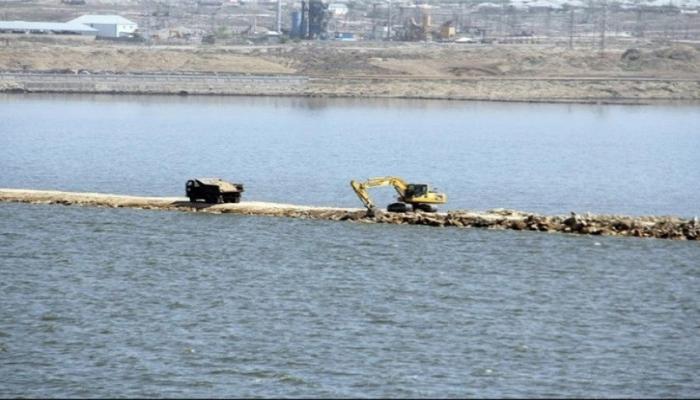 Xocəsən gölünün təmizlənməsinə başlanılır