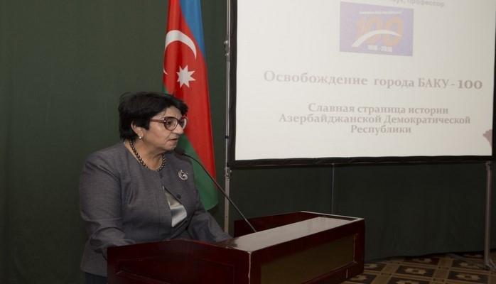 В Москве состоялся «круглый стол» на тему «Освобождение города Баку – 100»