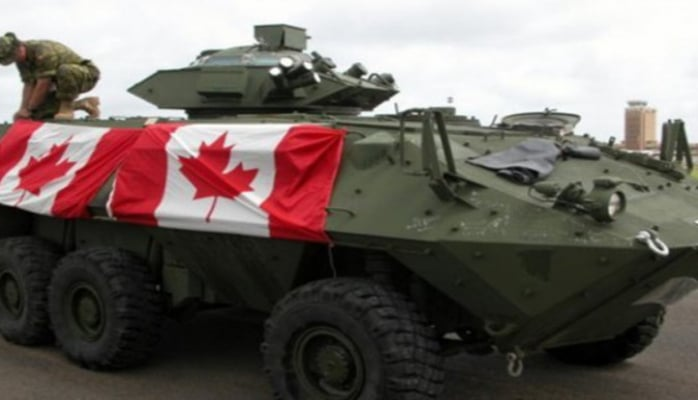 Канада приостанавливает поставки вооружений в Турцию