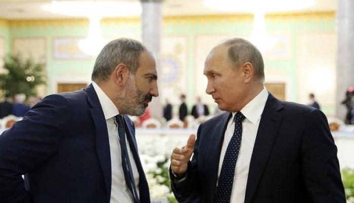 Paşinyan Putinlə görüşündən danışdı: Yeni dinamika...