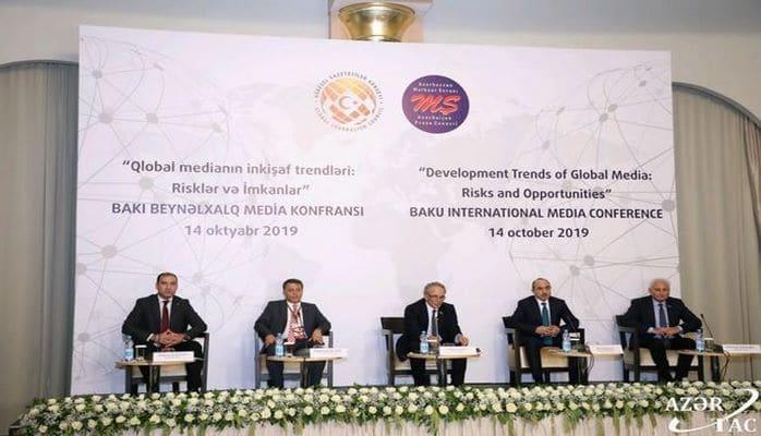 Bakıda Beynəlxalq Media Konfransı keçirilib