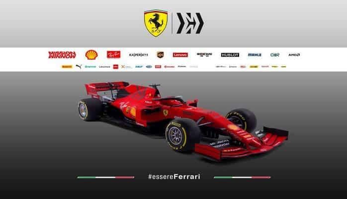 """Ferrari"" yeni bolidini təqdim edib"