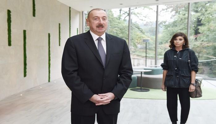"""Ильхам Алиев: """"Если бы в Азербайджане не было общественной стабильности, то и туристы не приезжали"""""""