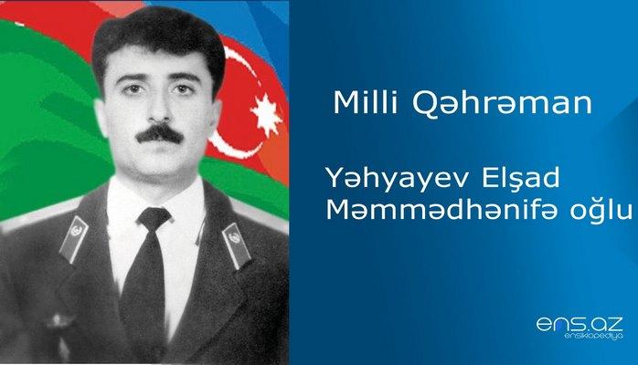 Elşad Yəhyayev Məmmədhənifə oğlu