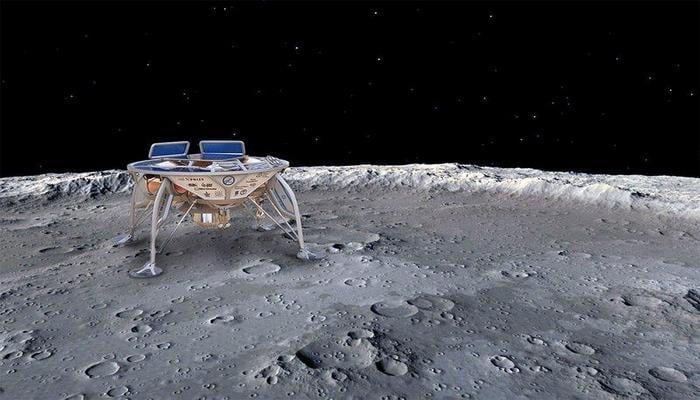 """Берешит"" готовится к посадке на Луну"