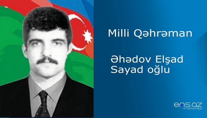 Elşad Əhədov Sayad oğlu