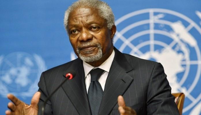 Kofi Annan vəfat edib