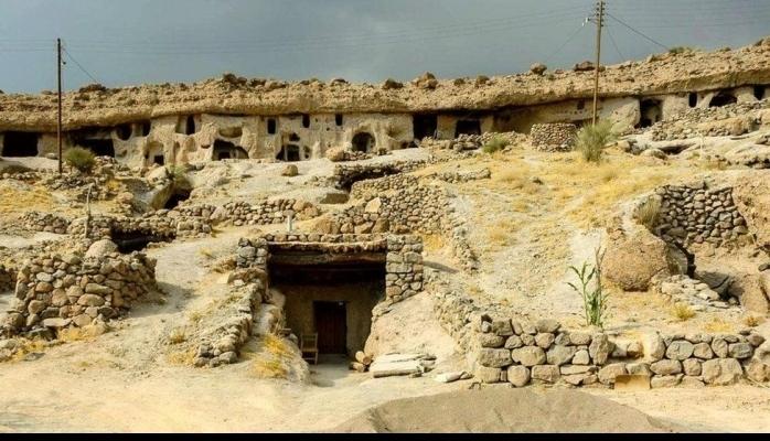 İranın son mağara insanları