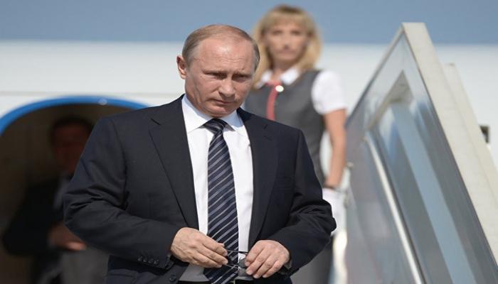 Путин прибыл в Турцию