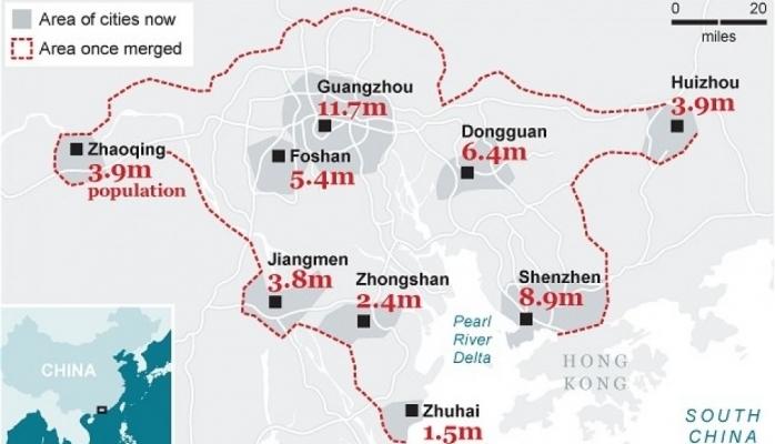 Çin dünyanın ən böyük meqapolisini yaradacaq