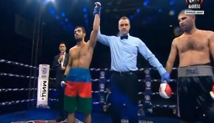 Азербайджанский боксер победил армянина в Москве