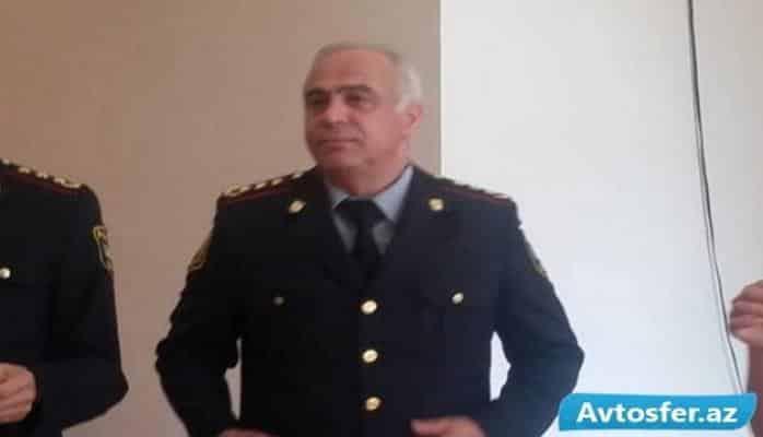 Vilayət Eyvazov yol polisinin rəis müavinini işdən çıxardı