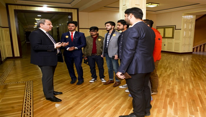 В БГУ побывала делегация Национального университета Икра Пакистана
