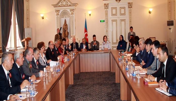 В Азербайджан прибыли руководители действующих в Турции диаспорных организаций