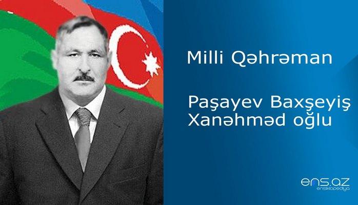 Baxşeyiş Paşayev Xanəhməd oğlu