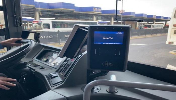 В Баку на безналичную оплату переходит еще один автобусный маршрут