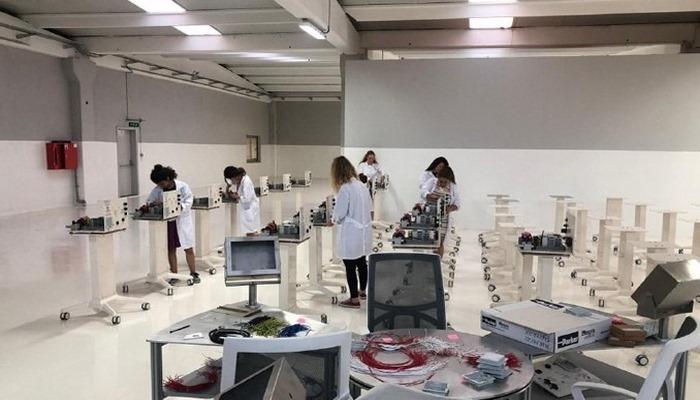 Dev teknoloji şirketinden yerli solunum cihazı üretimi