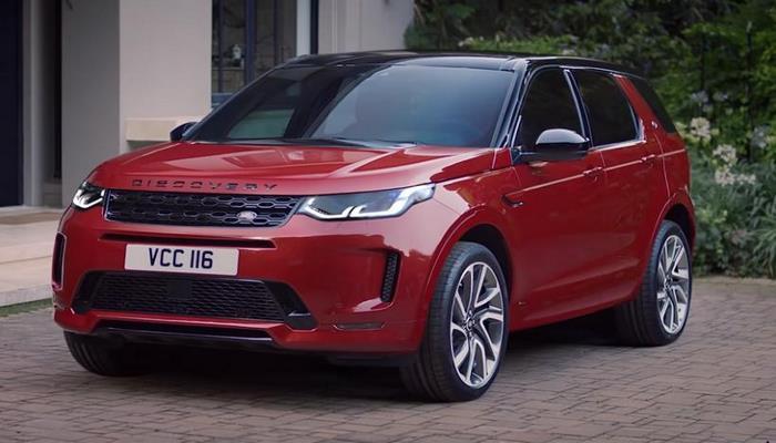Land Rover представила обновленный кроссовер Discovery Sport
