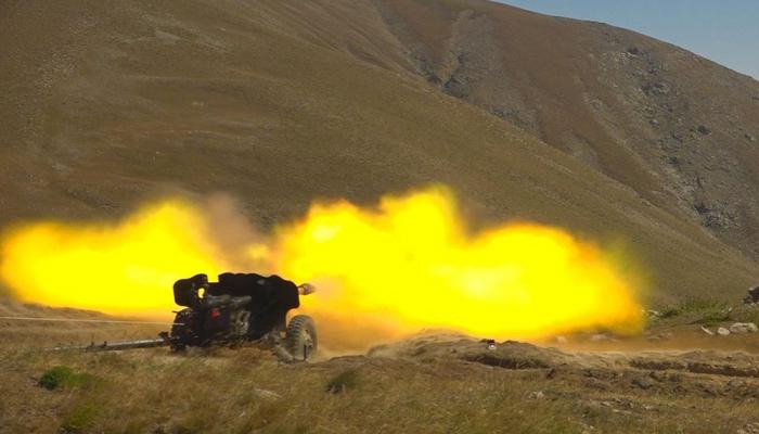 Проведена проверка артиллерийских и минометных подразделений Отдельной общевойсковой армии