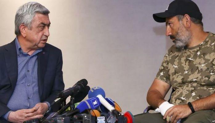 Саргсян пригрозил Пашиняну из-за Карабаха