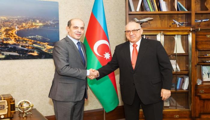 Президент AZAL и посол Иордании обсудили открытие нового рейса