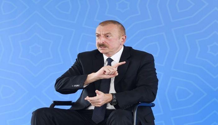 """Dövlət başçısı: """"Biz bu məsələni elə həll etməliyik ki, bu həll Azərbaycan xalqını tam təmin etsin, hər hansı yarımçıq həll bizə lazım deyil"""""""