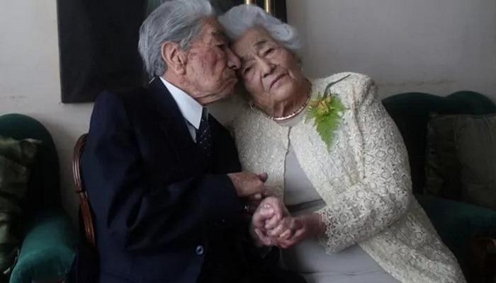 Dünyanın en yaşlı evli çifti Guinness Rekorlar Kitabı'nda