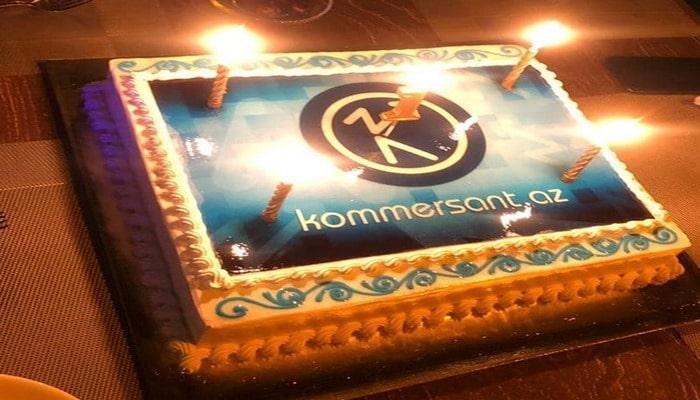 """""""Kommersant.az"""" saytının 1 yaşı tamam oldu"""