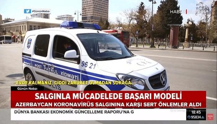 Azərbaycanın koronavirusla nümunəvi mübarizəsi Türkiyə mediasında