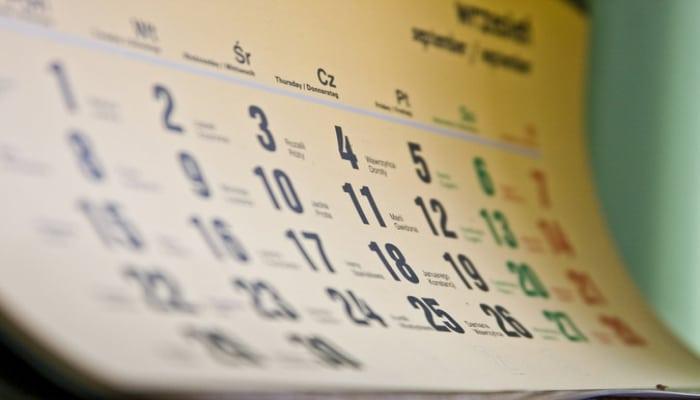 В мае в связи с праздниками 2 дня будут нерабочими