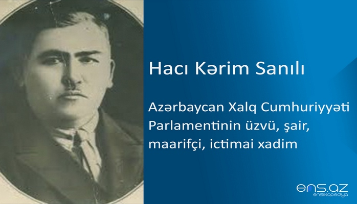 Hacı Kərim Sanılı