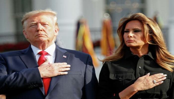 Дональд и Меланья Трамп почтили память жертв теракта 11 сентября