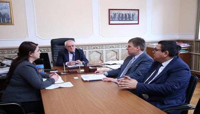 Академик Ибрагим Гулиев встретился с представителем Европейской комиссии