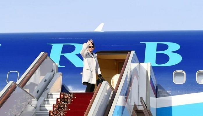 Завершился  визит Мехрибан Алиевой в Россию