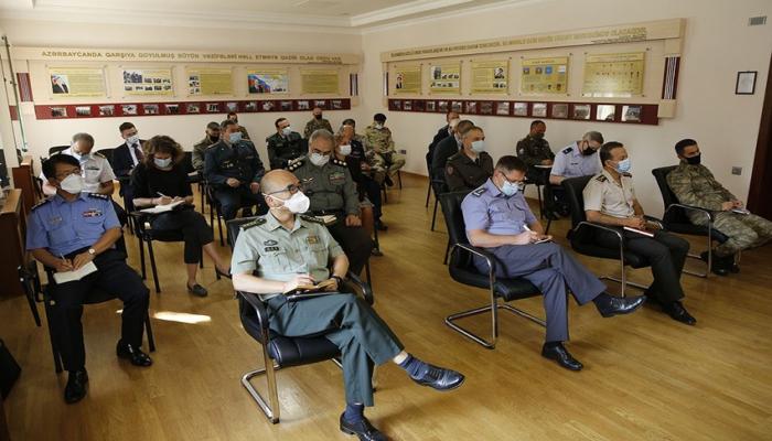 Международные организации проинформированы о ситуации на линии фронта